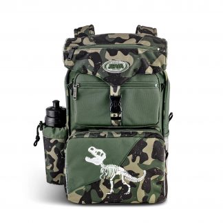 schoolbag with dinosaur - T-rex BEGINNERS from Danish brand JEVA
