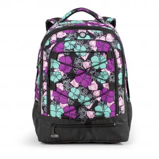 big flowered rucksack - Flora SURVIVOR