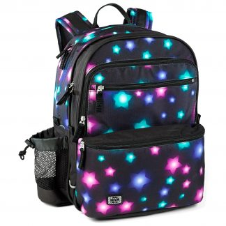 Smart school rucksack with star pattern - Estrella SQUARE