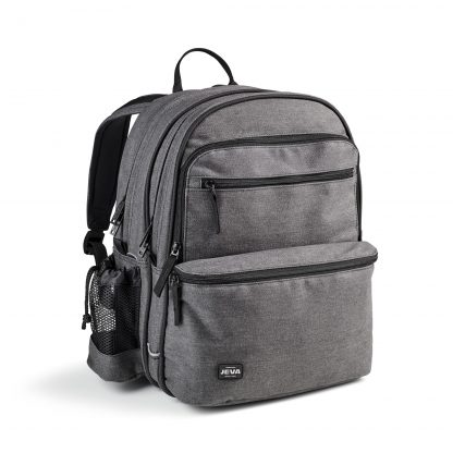 grey rucksack for young people - Denim SQUARE