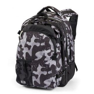Dark camou SUPREME rucksack with padded PC pocket