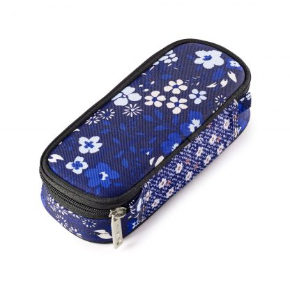 pencil case with blue flowers - Alps BOX from JEVA