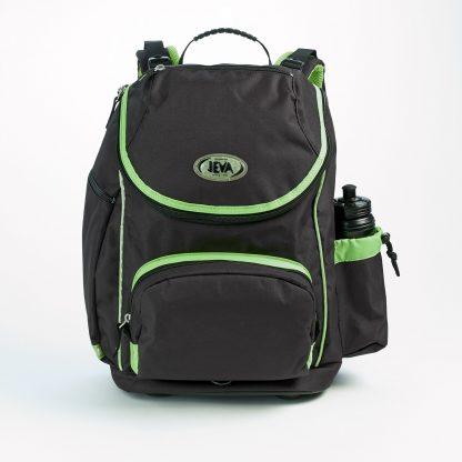 big schoolbag for children - Black Neon U-Turn rom JEVA