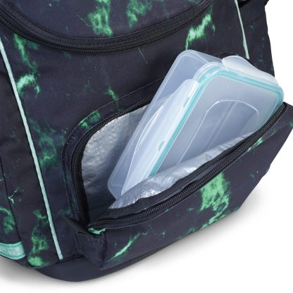 U-TURN schoolbags has an insulated lunch box compartment