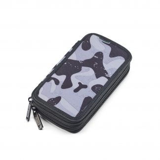 camouflage pencil case combat TWOZIP from JEVA