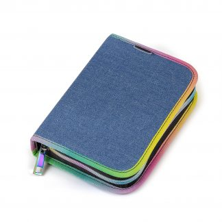 Yippie pencil case in denim