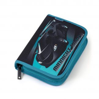 JEVA pencil case for boys - racing car motif