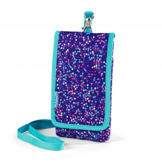 mobile bag with strap and safety clasp from JEVA