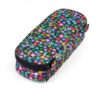 BOX pencil case for girls - Meadow with flowers