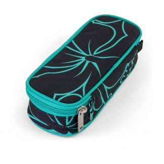 pencil case without pencils - hibiscus BOX from JEVA