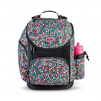 big schoolbag with flowers - meadow U-TURN