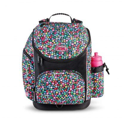 big schoolbag with flowers - meadow U-TURN