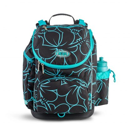 schoolbag for primary school girls - hibiscus U-TURN from JEVA