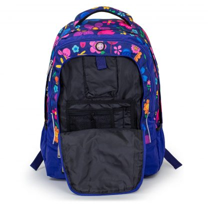 backpack with detailed organizer