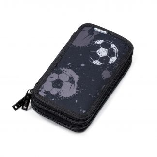 Defence TWOZIP football pencil case