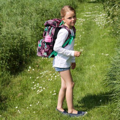 glow beginners skoletaske til piger i 0-2 klasse