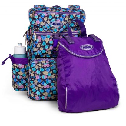 schoolbag with gymbag