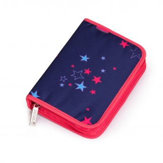 pencil case with stars