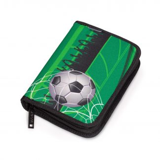 pencil case with cool football motif