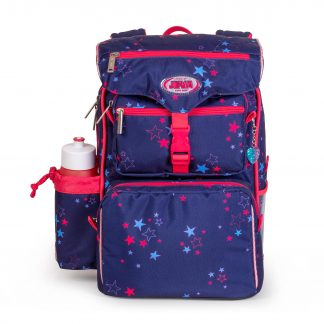 Beginner's schoolbag with stars