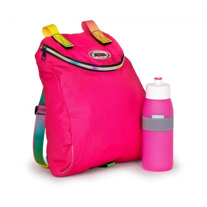 including gym bag and drinkingbottle