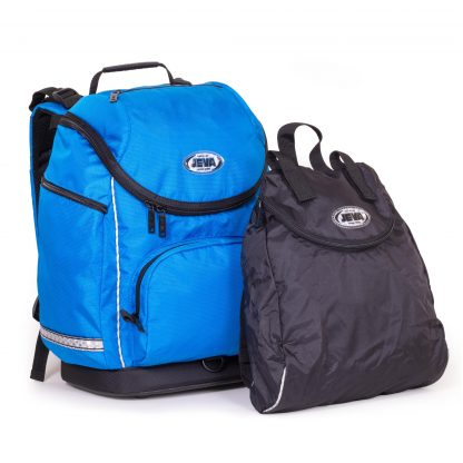 Large schoolbag with sports bag