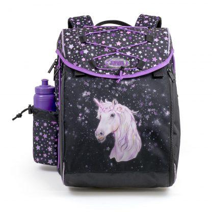 Schoolbag with unicorn
