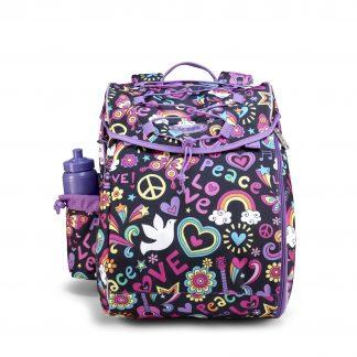 skole taske til piger Intermediate fra JEVA peace pop