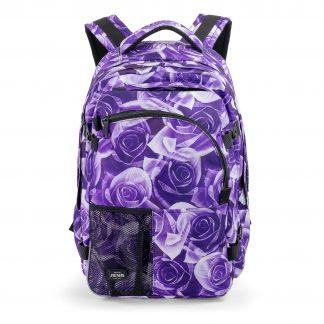 large rucksack for girls - Purple Rose SUPREME from JEVA