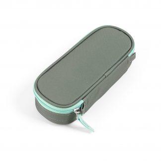 dusty green pencil case