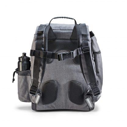 ergonomic schoolbag Denim U-TURN seen from the back