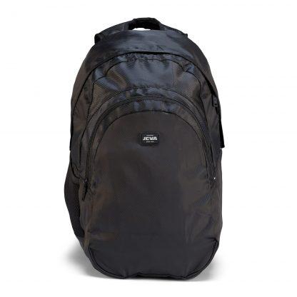 rucksacks for older students - Pure Black BACKPACK from JEVA