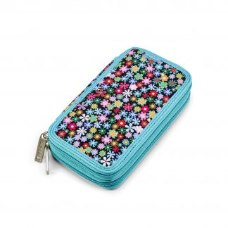 flowered pencil case Windy TWOZIP from JEVA