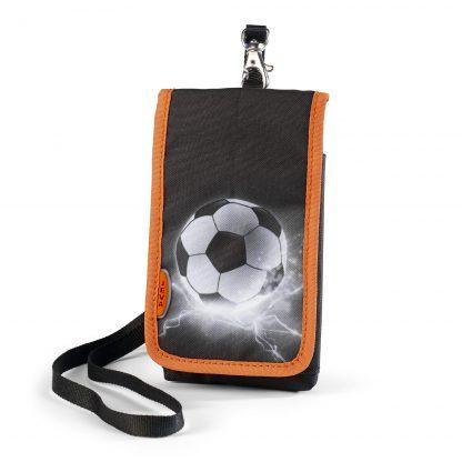 JEVA mobile bag for children - with football print