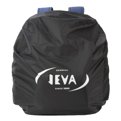 black raincover with elastic bands for your schoolbag or backpack