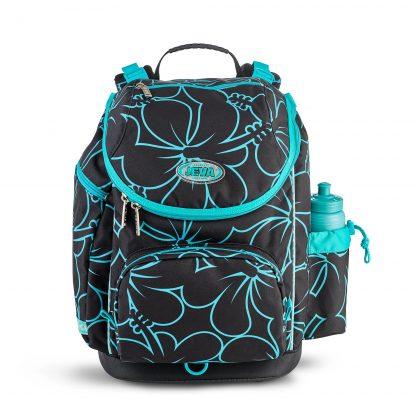 schoolbag for primary school girls - hibiscus U-TURN from JEVA