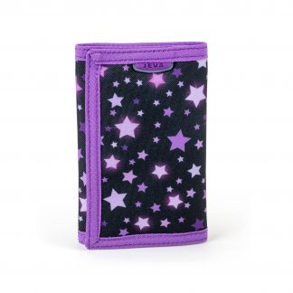 Wallet for girls: Cassiopeia WALLET is cool with velcro.