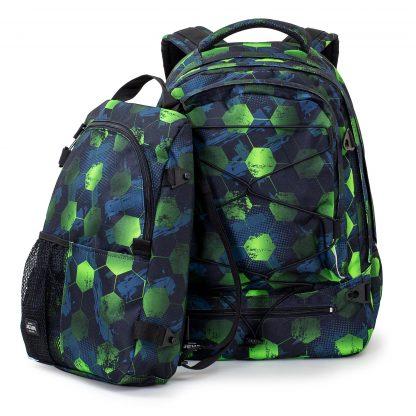 large 2-i-1 rucksack, 30+10 Liters