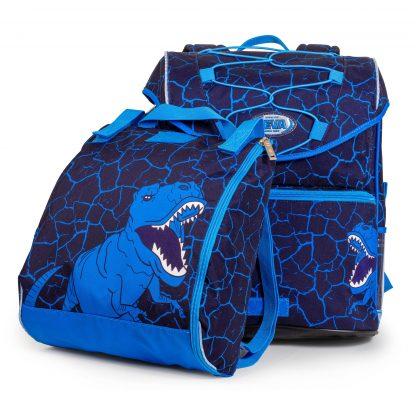 Monster INTERMEDIATE Schoolbag with dinosaur