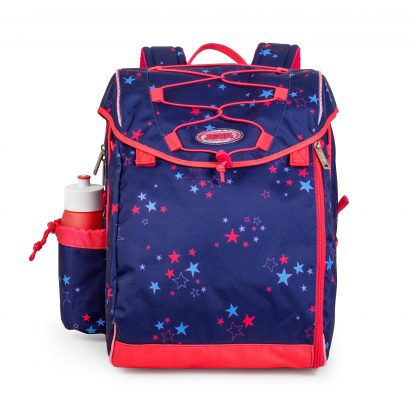 Cool schoolbag with stars