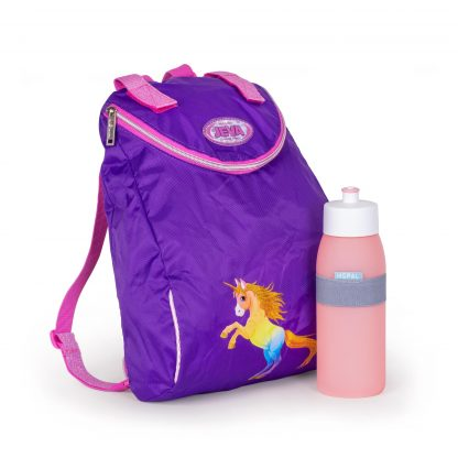 beatiful gymbag and MEPAL drinkingbottle included