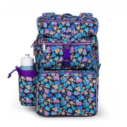 beginners schoolbag with gymbag and drinkingbottle included