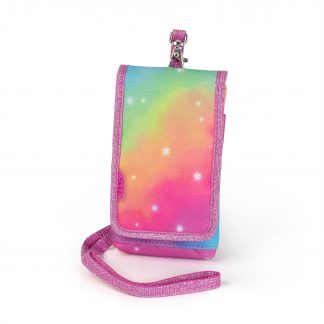 mobile cover with glitter