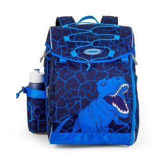 Schoolbag with dinosaur