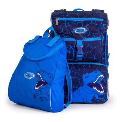 scoolbag with gymbag