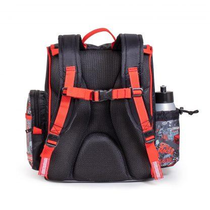boys schoolbag with ergonomic foam back