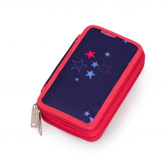 pencil case with star pattern