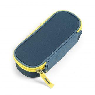 blue pecil case