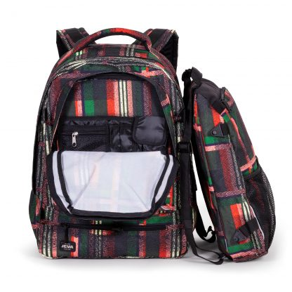 backpack with organizer