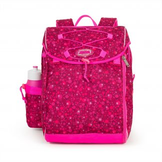 Pink schoolbag for primary school